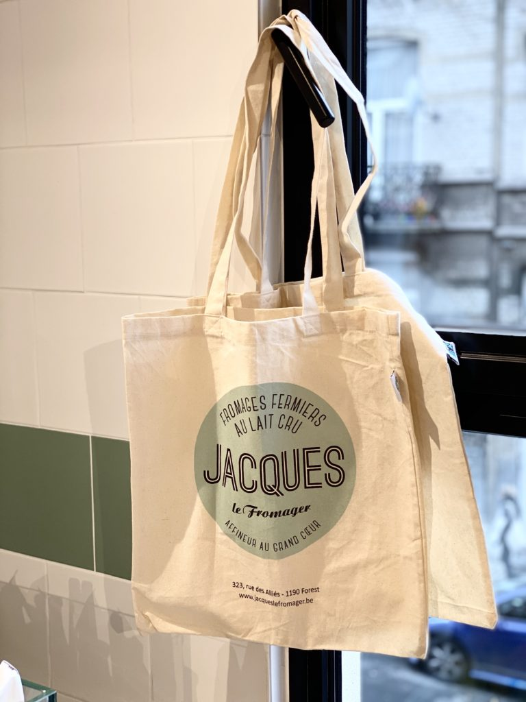 tote bag Jacques le Fromager